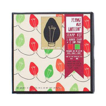 Holiday Light Pattern Stamp Set by Yellow Owl Workshop