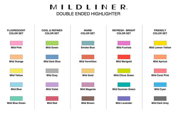 Mildliner Highlighter Set by Zebra