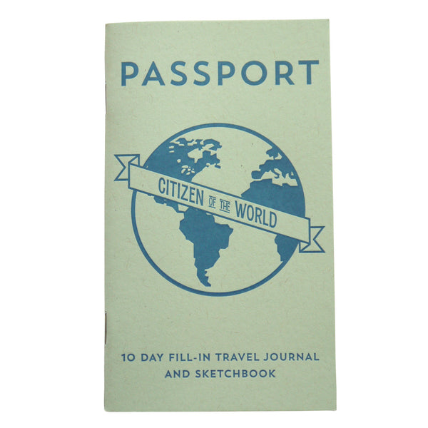 Passport Travel Journal by Anemone Letterpress