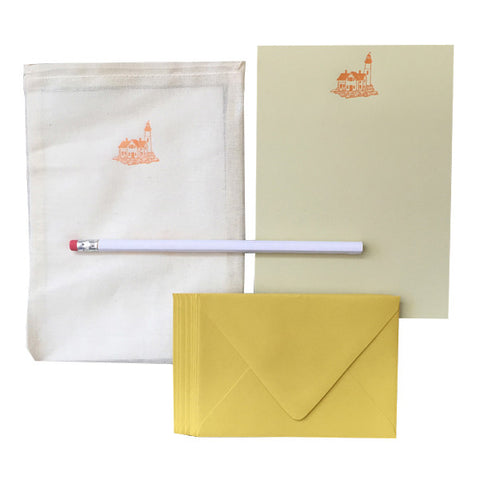 Lighthouse Letter Writing Set by Blackbird Letterpress