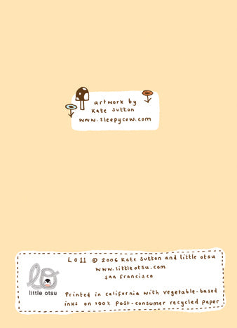 Kate Sutton Camping Card by Little Otsu