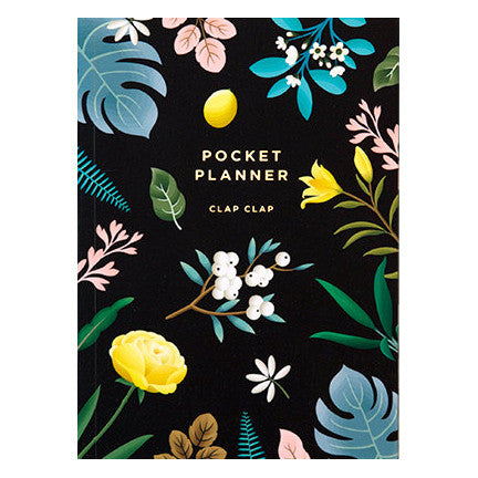 Botanical Pocket Planner by Clap Clap