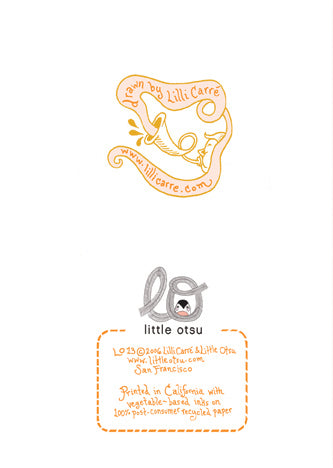 Lilli Carré Congratulations Card by Little Otsu