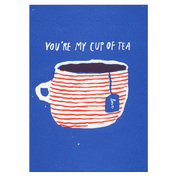 Cup of Tea Card by Egg Press