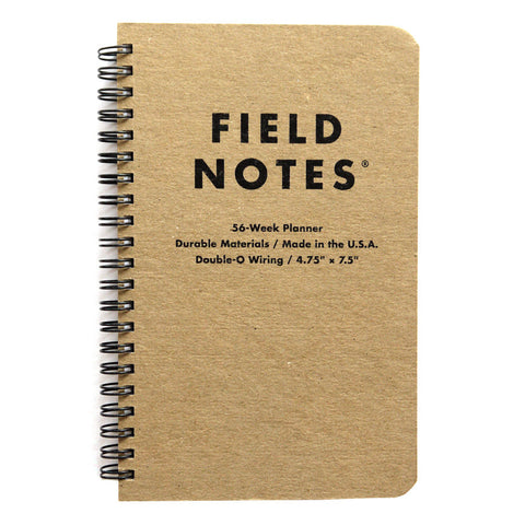 56-Week Planner by Field Notes