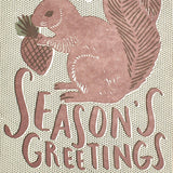 Squirrel Season's Greetings Card Set by Hello Lucky