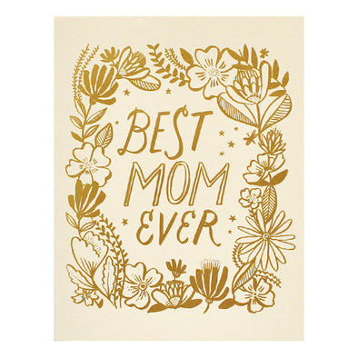 Best Mom Ever Card by Hello Lucky
