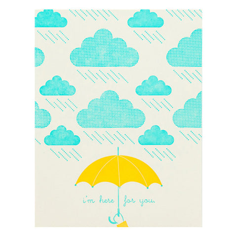 Cloudy Day Card by Hello Lucky