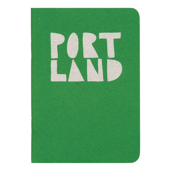 Portland Pocket Notebook by Little Otsu