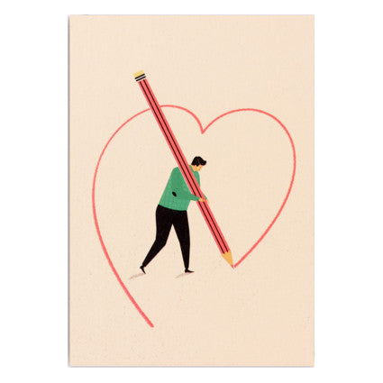 Dawid Ryski Drawn to You Card by Lagom