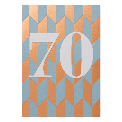Postco 70 Card by Lagom Design