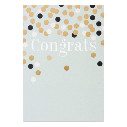Postco Congrats Card by Lagom Design