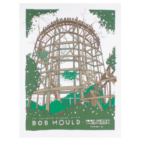 Bob Mould Screenprint by Landland