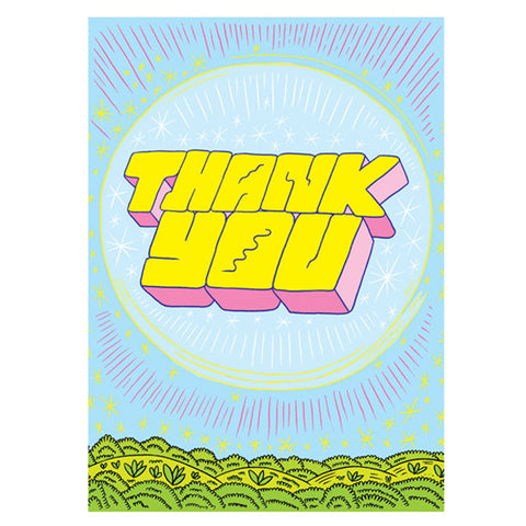 Ron Regé, Jr. Thank You Card by Little Otsu