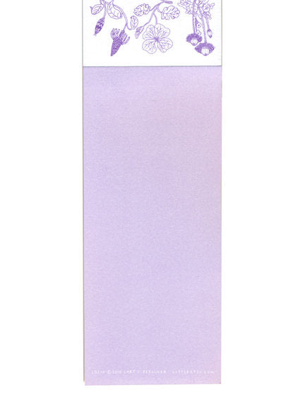 Lart C. Berliner Alpine Songs Notepad by Little Otsu