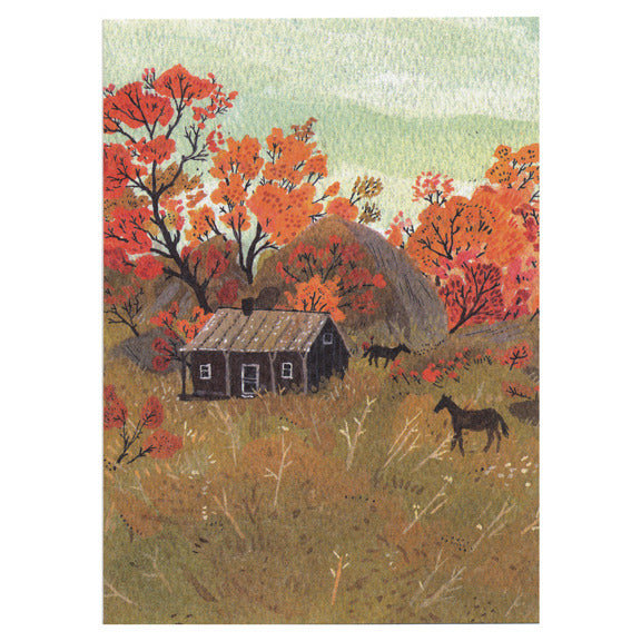 Becca Stadtlander Seasons Cards by Little Otsu