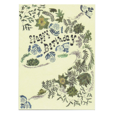 Jennie Smith Happy Birthday Card by Little Otsu