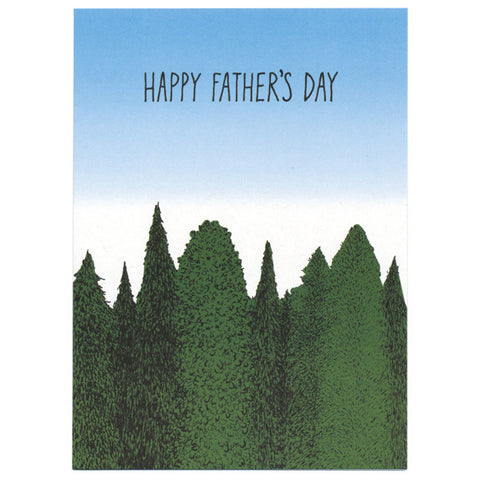 Martine Workman Happy Father's Day Card by Little Otsu