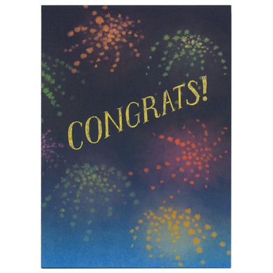 Martine Workman Congrats Card by Little Otsu