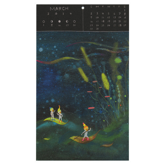 APAK Everyday Magic 2014 Calendar by Little Otsu