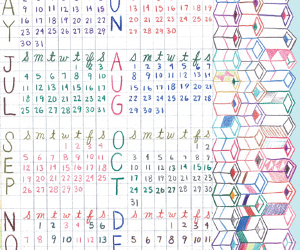 Lart C. Berliner Three Year Calendar (2010, 2009, 2008) by Little Otsu