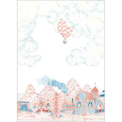 Lart C. Berliner Tiger Mountain Days Card by Little Otsu