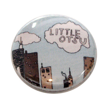 Lart C. Berliner City Button by Little Otsu