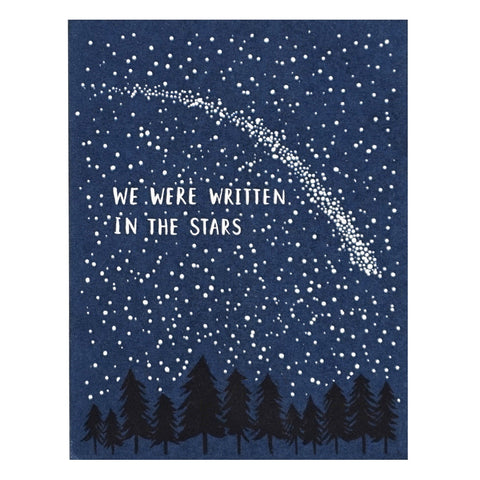 We Were Written in the Stars Card by Lucky Horse Press