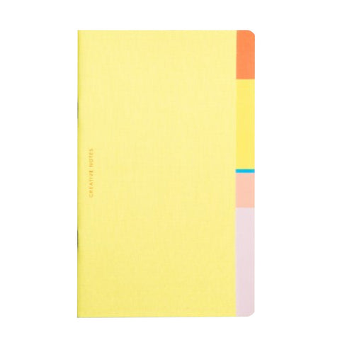 Bazaar Creative Notes Plain Notebook by Octaevo