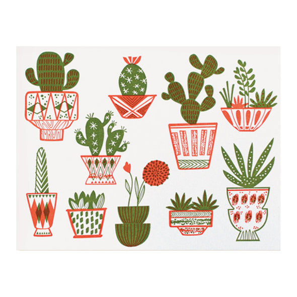 Cacti Card by Paper Parasol Press