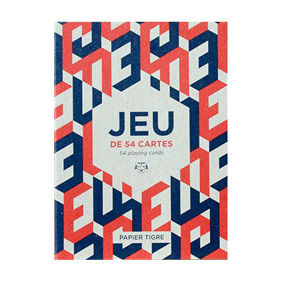 Le Jeu de Cartes Playing Cards by Papier Tigre