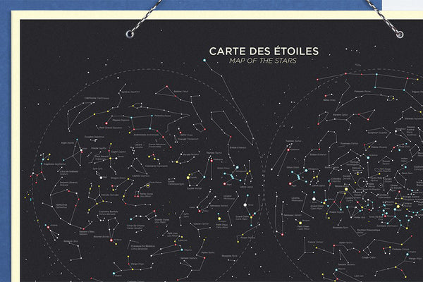 Map of the Stars by Papier Tigre