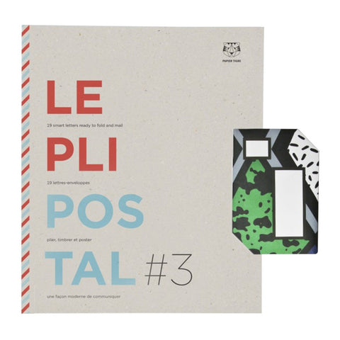 Le Pli Postal #3 Stationery Set by Papier Tigre