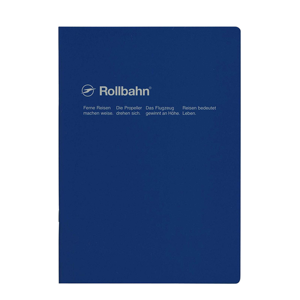 Rollbahn Stapled A5 Medium Notebook by Delfonics