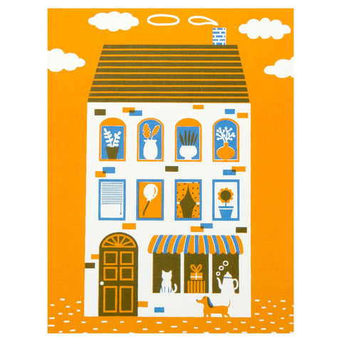 A Happy House Card by The Seapink