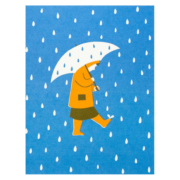 A Rainy Day Card by The Seapink