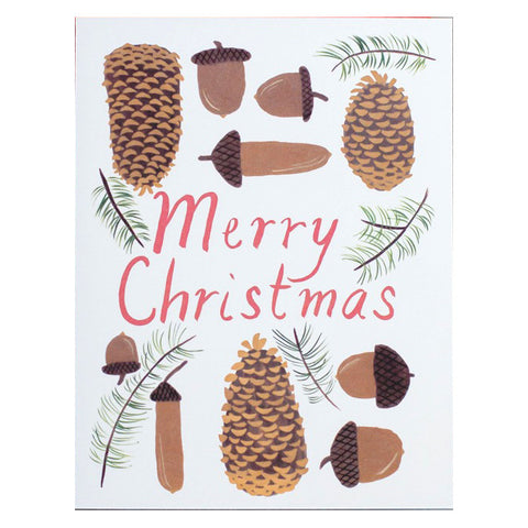 Small Adventure Cones and 'Corns Merry Christmas Card Set