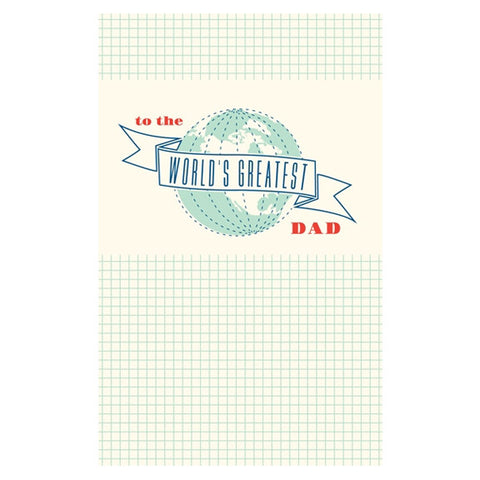 Greatest Dad Card by Snow & Graham