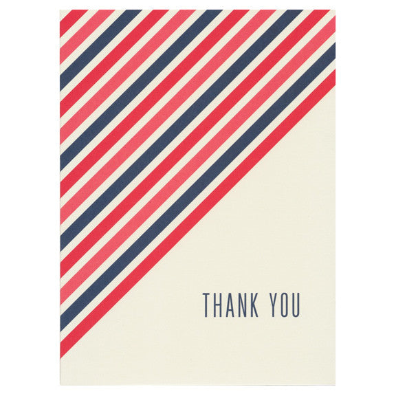 Barber Shop Thank You Card by Snow & Graham