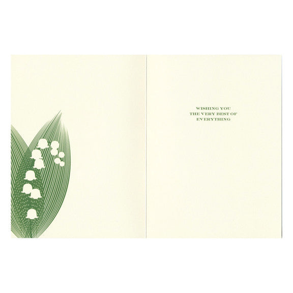 Lily Wedding Card by Snow & Graham