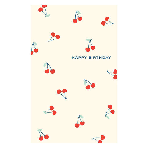 Birthday Cherries Card by Snow & Graham