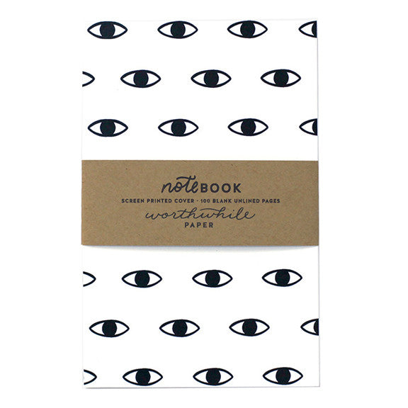 Eye Pattern Notebook by Worthwhile Paper