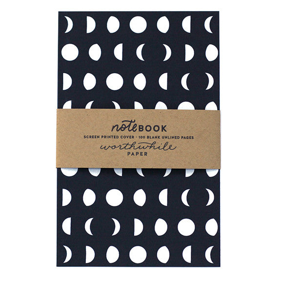 Moon Pattern Notebook by Worthwhile Paper