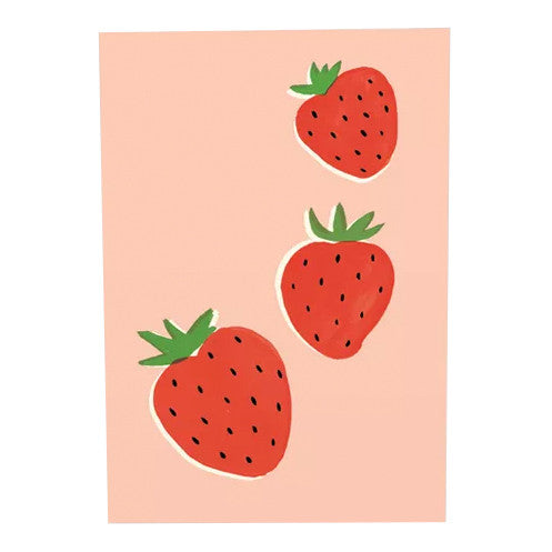 Ruby Taylor Strawberry Card by Wrap