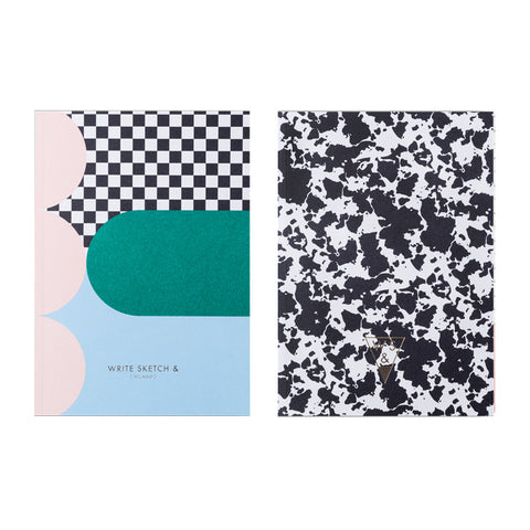 Write Sketch & Super! Spot Notebook