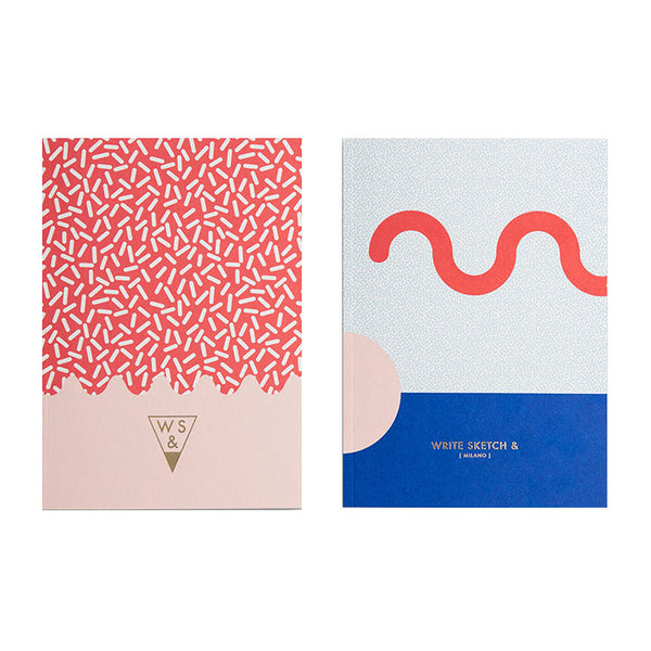 Write Sketch & Super Sprinkles Notebook