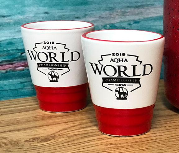 2018 WS World Show Shot Glass