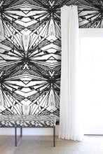 Harlequin Diamond Large Black and White Nashville artist Angela Simeone art interiors