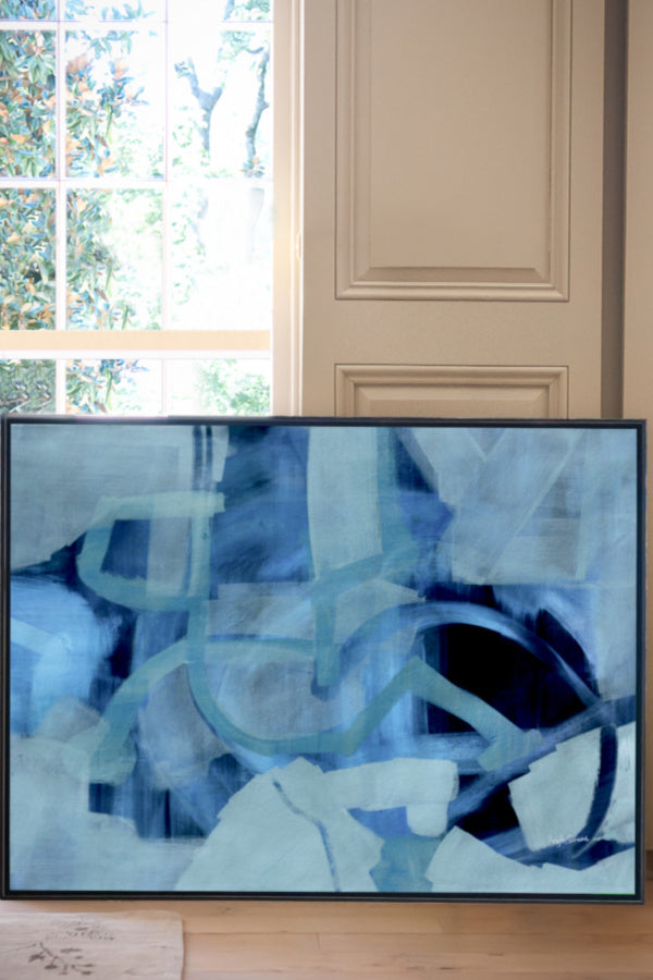 original abstract art painting Nashville artist Angela Simeone
