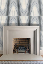 Chevron Ad Astra Ikat wallpaper nashville artist interiors interior design designer abtract wallpapers